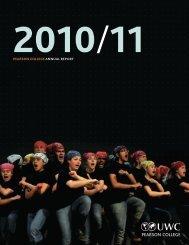 Annual Report 2010/11 - Pearson College