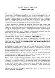 Omelia IV domenica di Quaresima - Cuore e Mani Aperte