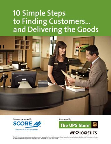 Simple Steps To Finding Customers… And Delivering The ... - Score