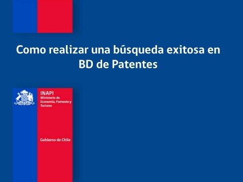 patentes - Inapi Proyecta