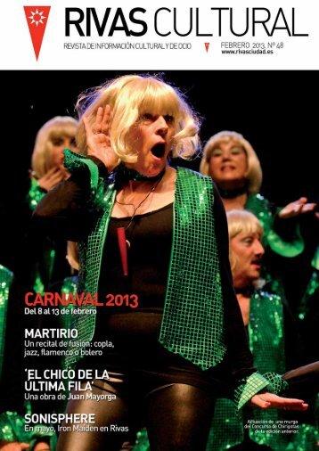 Rivas Cultural 48 febrero 2013 - Ayuntamiento Rivas Vaciamadrid