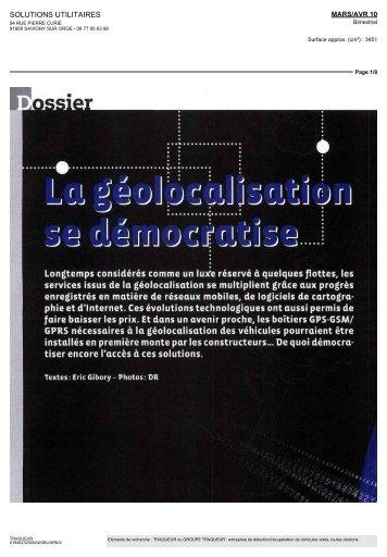 Télécharger - Groupe TRAQUEUR