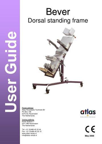 Standing frame - Atlas - Rehab