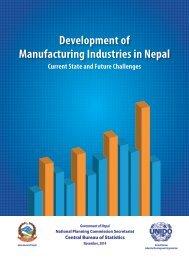 Devlopment-of-manufacturing-industries-in-Nepal