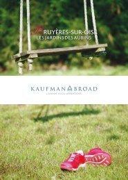 Maisons neuves Bruyères sur Oise - programme ... - Kaufman & Broad