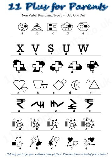 non verbal reasoning test papers 13 dating