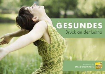 GESUNDES - Stadtgemeinde Bruck an der Leitha