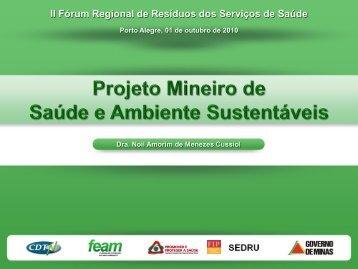 Projeto Mineiro de Saúde e Ambiente Sustentáveis - Sindihospa