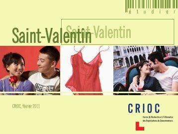 Saint-Valentin - Crioc