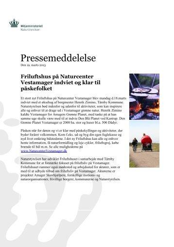 Pressemeddelelse - TÃ¥rnby Kommune