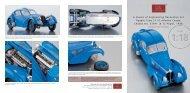 A Classic of Engineering Decorative Art Bugatti Type 57 SC ... - CMC