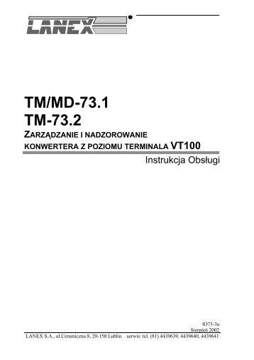 IO73-3a - Lanex S.A.