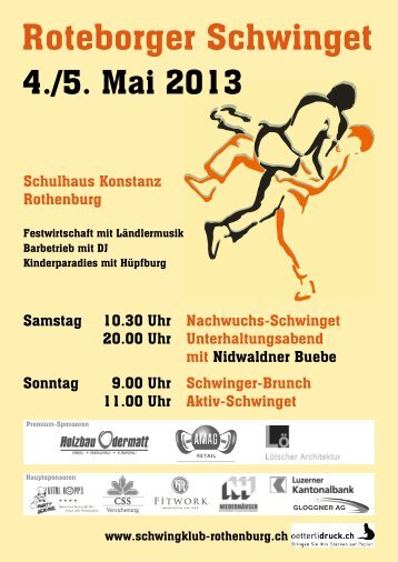 Festführer 2013 - Schwingklub Rothenburg