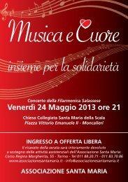 Musica e Cuore - Associazione Santa Maria Torino