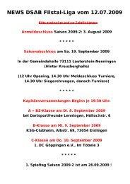 B 1 - DSAB Filstal-Liga