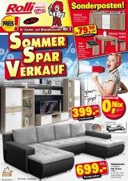 Sommer-Spar-Verkauf!
