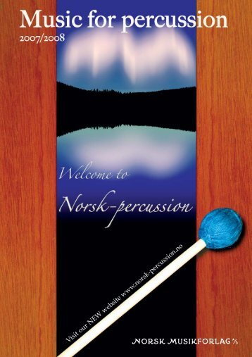 percussion and choir - norsk-percussion.no
