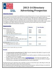 2013-‐14 Directory Advertising Prospectus - Texas Grain & Feed ...