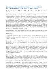 Document - Eglise catholique et société