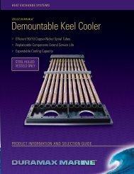 Demountable Keel Cooler - Marine Office
