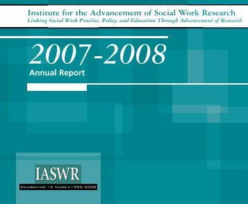 Institute for the Advancement of Social Work Research