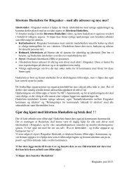 Idrettens huskeliste 2013.pdf - Ringsaker kommune