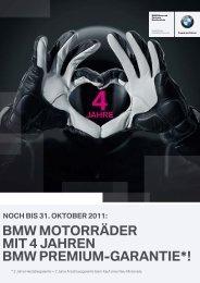 bmw motorräder mit 4 jahren bmw premium-garantie - BMW Motorrad
