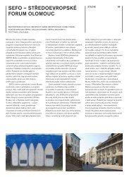 SEFO – STŘEDOEVROPSKÉ FORUM OLOMOUC - Architekt