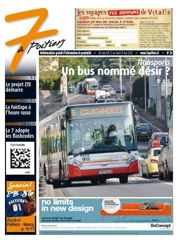 n° 33 voir ce numéro - 7 à Poitiers
