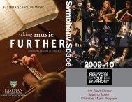 Symphony Space 2009-10 - New York Youth Symphony