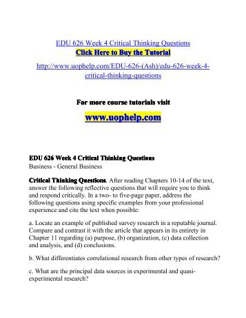 How to Write a Critical Thinking Paper? | Examples and Samples