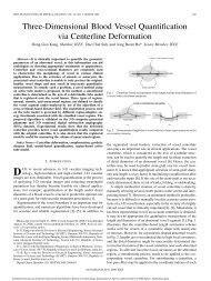 IEEE TRANSACTIONS ON MEDICAL IMAGING, VOL ... - isl, ee, kaist