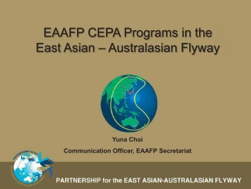 Yuna Choi, EAAFP - Wetland Link International
