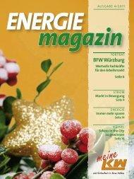 ENERGIE magazin - und Wasserwerke Kitzingen GmbH