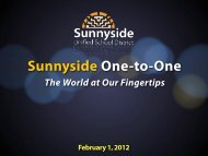 The World at Our Fingertips - Sunnyside Unified School District
