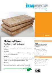 Universal Slabs - GRM Insulation Solutions