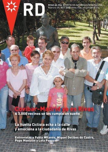 rd nº 49 octubre 2006 pdf - Ayuntamiento Rivas Vaciamadrid