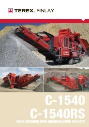 C-1540 Cone Crusher - Raco Rappresentanze