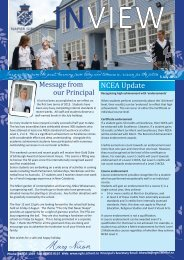 Issue 8 5-July 2013 - Napier Girls' High School