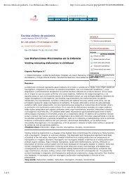 Revista chilena de pediatría - Las Disfunciones Miccionales en la ...