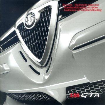 Services, 156 GTA, 2002-09, Nl - GTV6 et 156 GTA