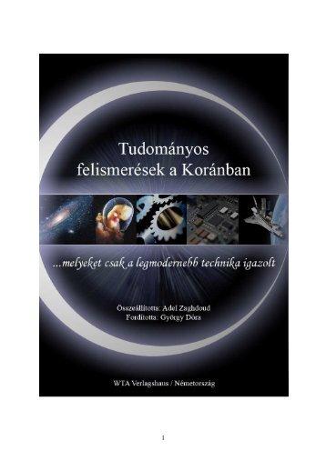 Tudományos felismerések a Koránban - Way to Allah