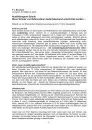 Selbständig-bedarfsdeckender Unterricht der Referendare - p-j-r.de