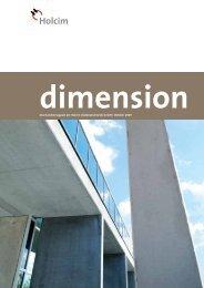 dimension - Holcim Süddeutschland
