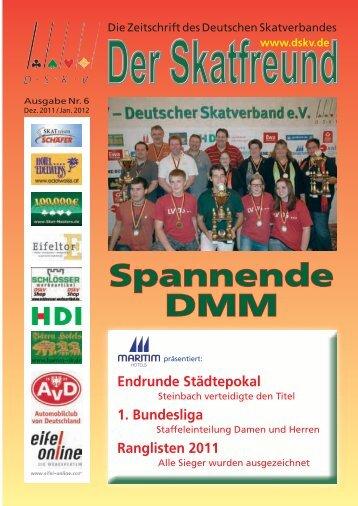 Ranglisten 2011 - DSkV