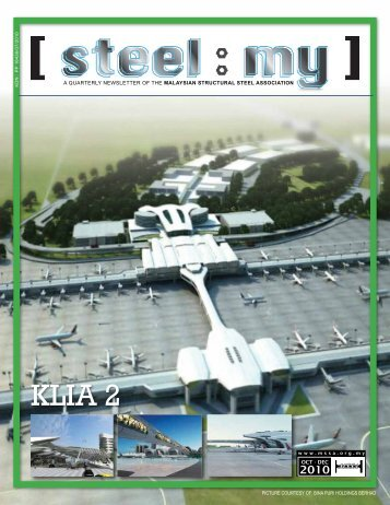 KLIA 2 - MSSA Malaysian Structural Steel Association