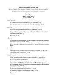(1852/54) – 64 (2010) einschl. der Beihefte 1 – 36 A