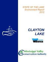 CLAYTON LAKE - Mississippi Valley Conservation