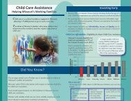Child Care Assistance - Human Development and Family Studies