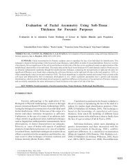 Evaluation of Facial Asymmetry Using Soft-Tissue ... - SciELO Chile